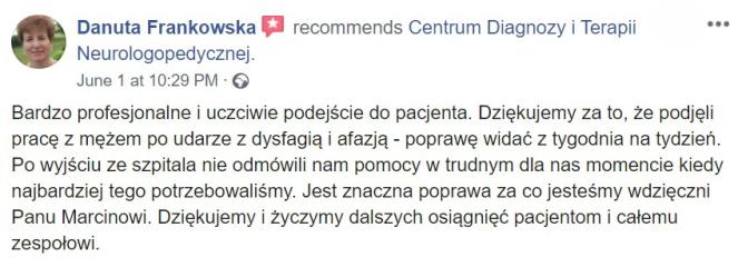 Rekomendacja Pani Danuta